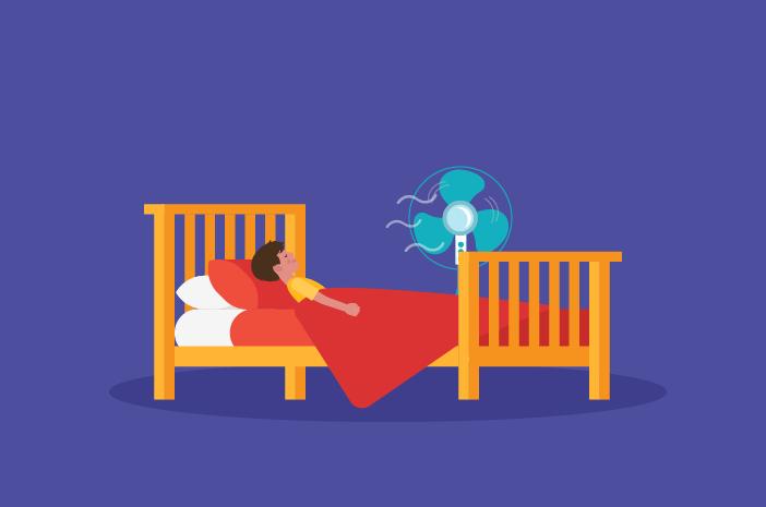 benarkah paparan kipas angin saat tidur bisa sebabkan efusi pleura
