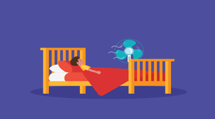 Benarkah Paparan Kipas Angin saat Tidur Bisa Sebabkan Efusi Pleura?