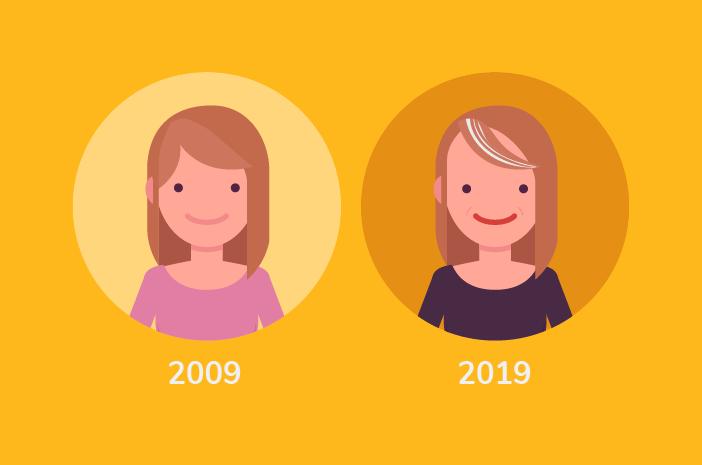kaget lihat perubahan wajah 10 tahun lalu ini tips awet muda