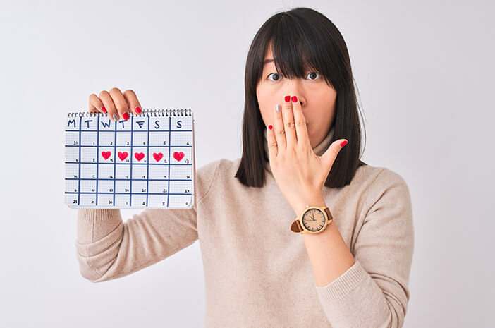 Absen Sebulan, Ini Tanda Menstruasi Tidak Normal