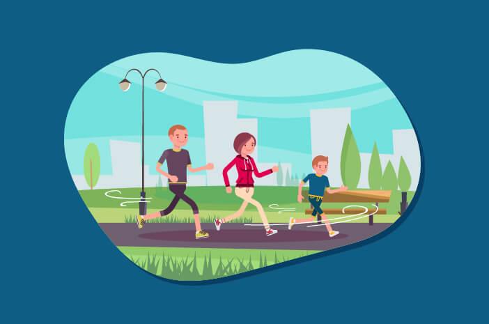 Ajak Anak Jogging saat Pagi Gelap Bisa Terkena Hipotermia?
