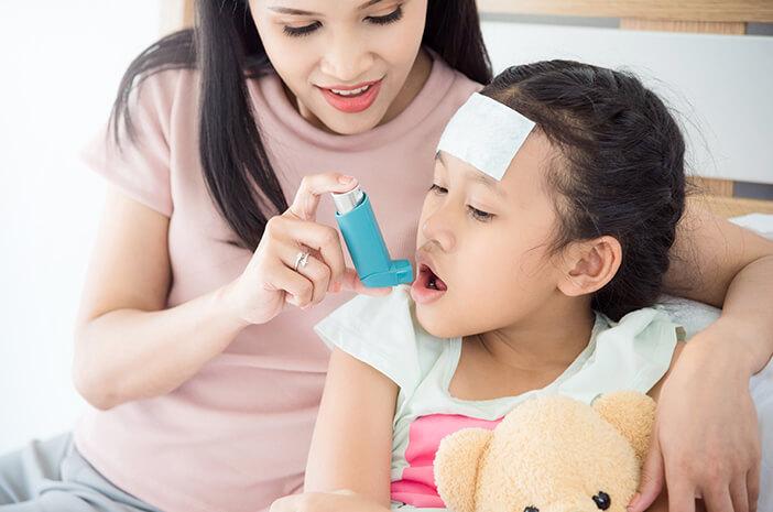 Alasan Anak Lebih Rentan Kena Infeksi Saluran Pernapasan