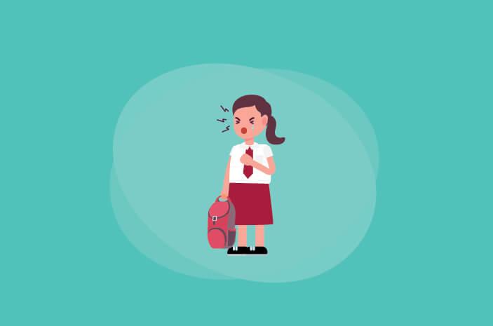 Anak Mogok Masuk Sekolah, Ini yang Harus Dilakukan