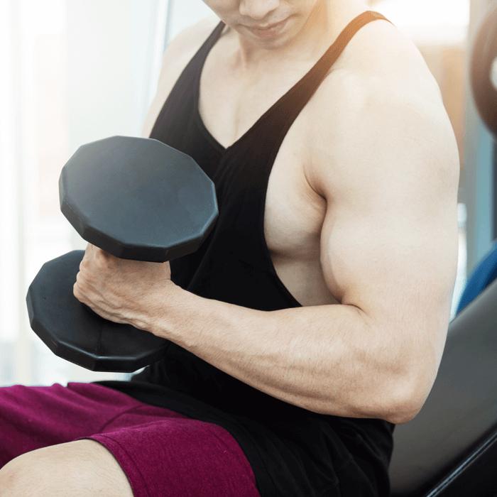 Ini Bahaya Suntik untuk Membentuk Otot pada Pria