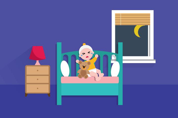 Ibu, Hindari Meninggalkan Bayi yang Menangis di Malam Hari