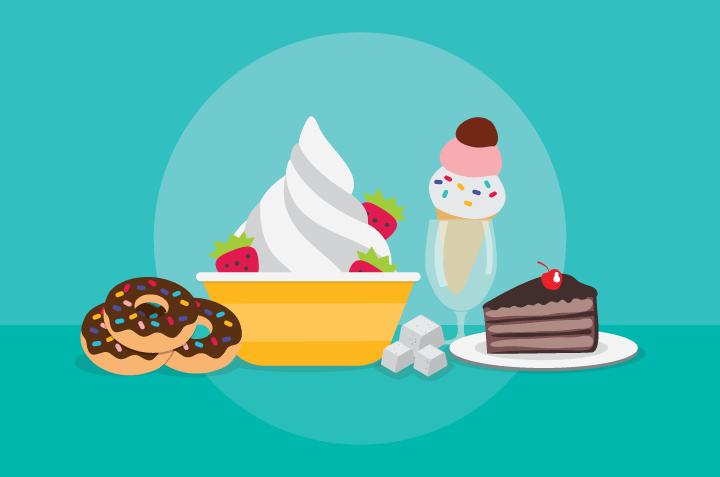 Tetap Sehat Meski Banyak Makan Manis