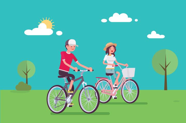 Cara Menurunkan Depresi dengan Bersepeda