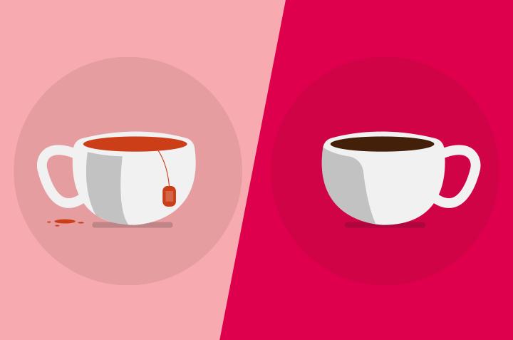 Teh atau Kopi, Mana yang Lebih Sehat?