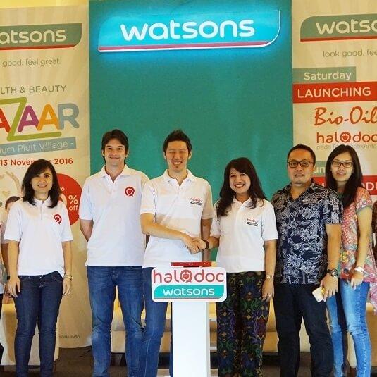 Kerjasama HaloDoc dan Watsons dalam Memenuhi Kebutuhan Masyarakat