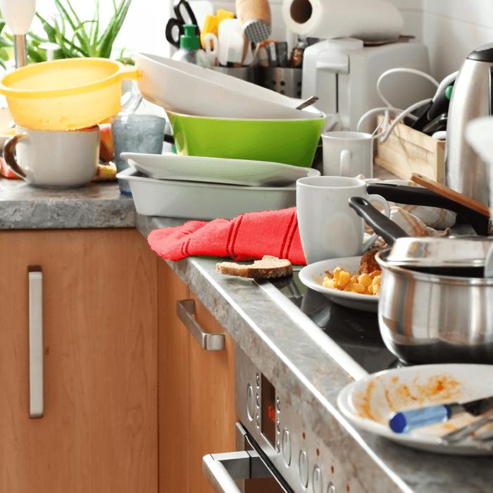 Gara-Gara Malas Cuci Piring, Hubungan Asmara bisa Retak