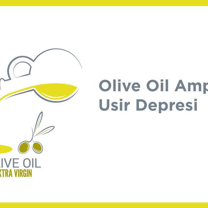 Olive Oil Ampuh Usir Depresi