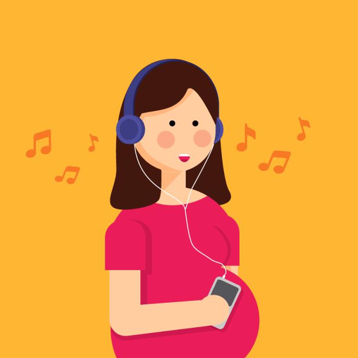Manfaat Mendengarkan Musik untuk Ibu Hamil