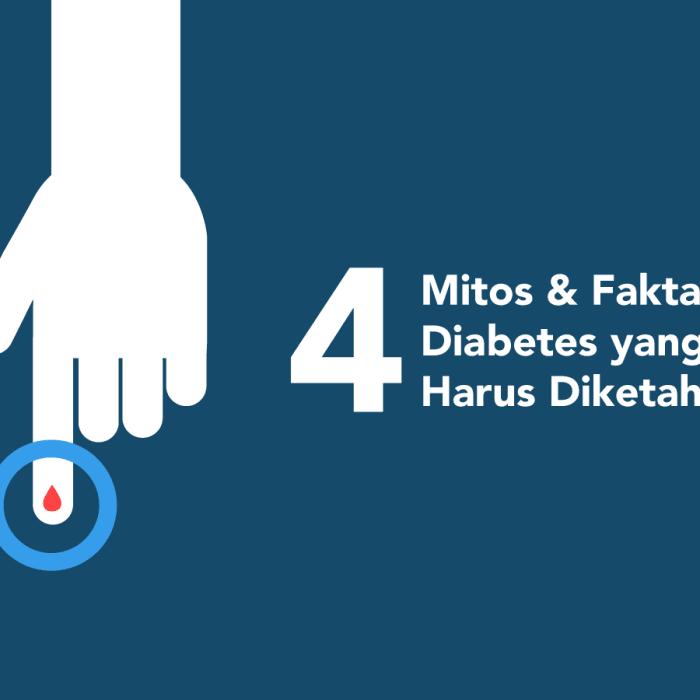 diabetes, mitos fakta diabetes, gejala diabetes