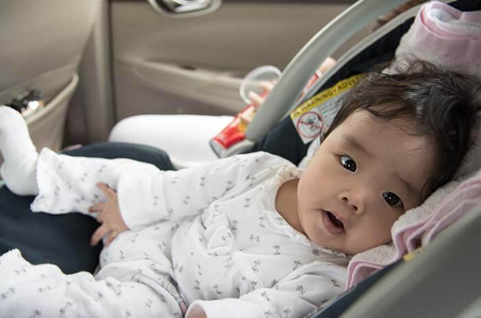 Awas Bahaya, Hindari Kesalahan Pakai Carseat pada Bayi