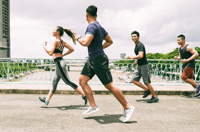 Bukan Pakai Masker, Ini Tips Olahraga Sehat di Jakarta