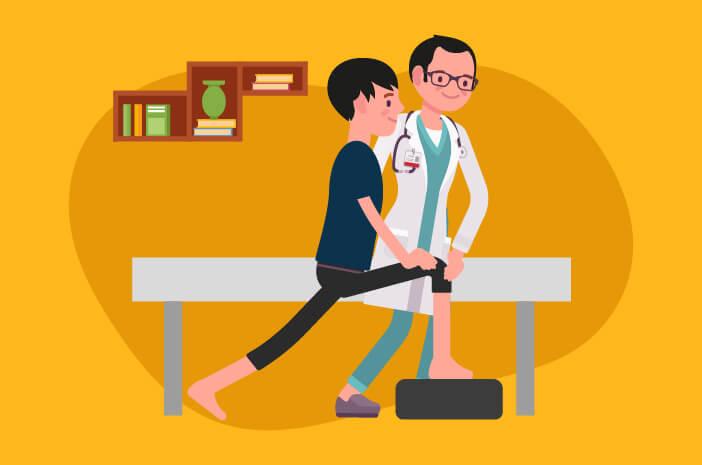fisioterapi, kista baker