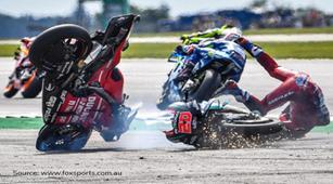 Insiden di MotoGP, Dovizioso Sempat Hilang Ingatan Sesaat, Kok Bisa?