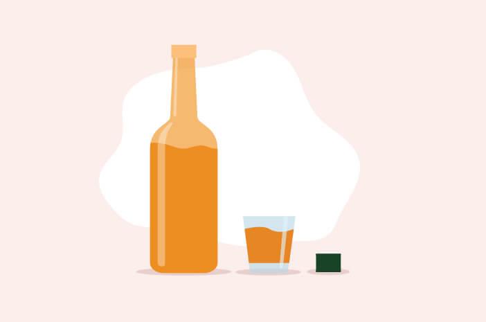 Ketoasidosis Alkoholik, akibat minuman keras