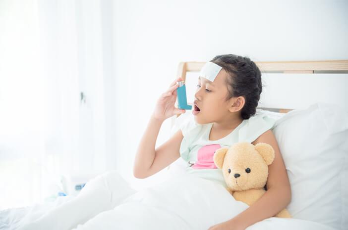 Kenali Gangguan Pernafasan Bronkopneumonia pada Anak