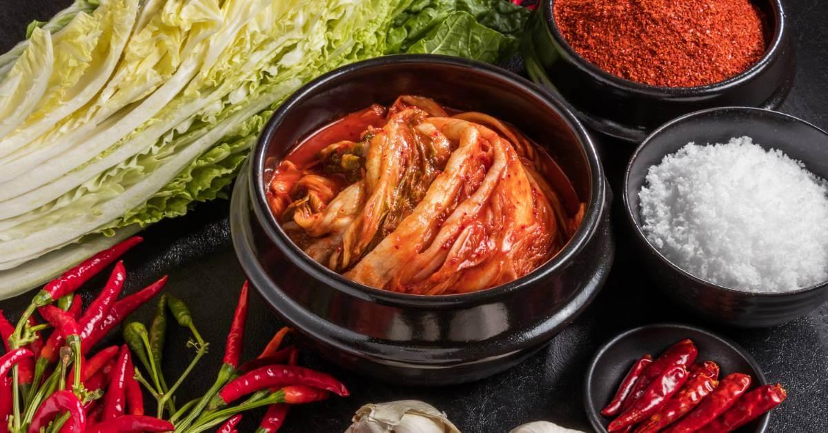 Kimchi dapat mencegah kebotakan, manfaat kimchi, kimchi bisa mencegah kebotakan