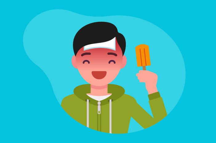 Makan Es Krim Saat Demam Justru Bermanfaat, Benarkah?