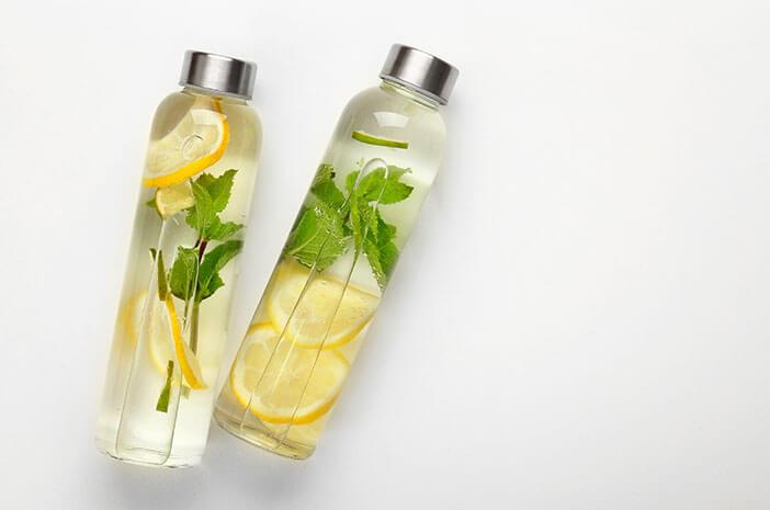 Mengecilkan Perut Buncit, Ini Manfaat Infused Water Lemon