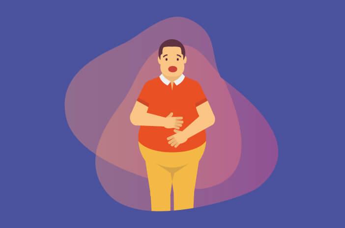 kurap, obesitas, obesitas rentan terkena kurap, lipatan kulit