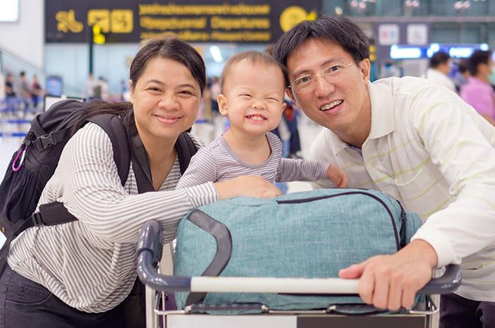 Perhatikan 6 Hal Ini saat Liburan ke Luar Negeri dengan Bayi
