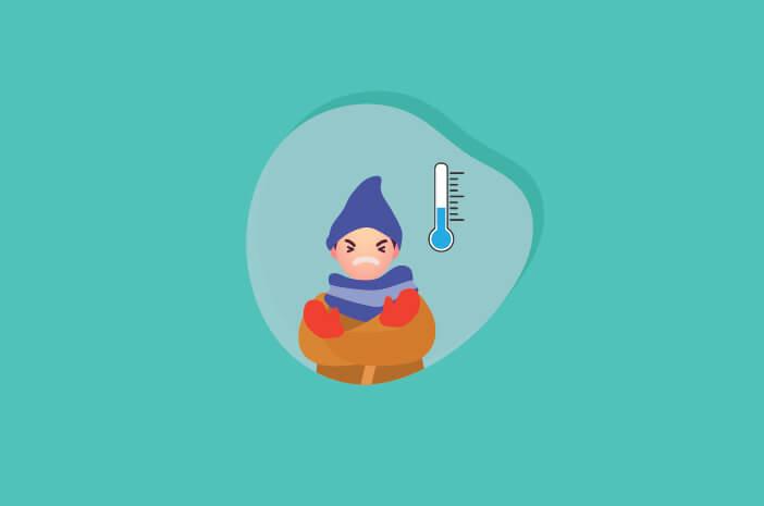 cara mencegah hipotermia