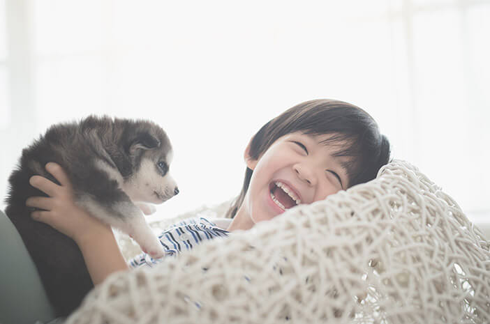 Usia yang Tepat untuk Anak Bermain dengan Hewan Peliharaan