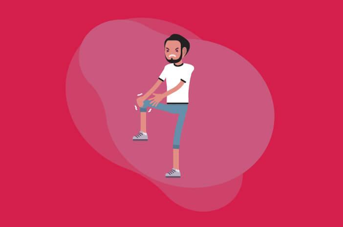 lutut sakit saat berdiri